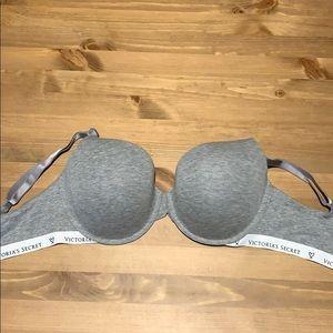 Victoria's Secret Intimates & Sleepwear - Gray T-Shirt 34 DDD Bra